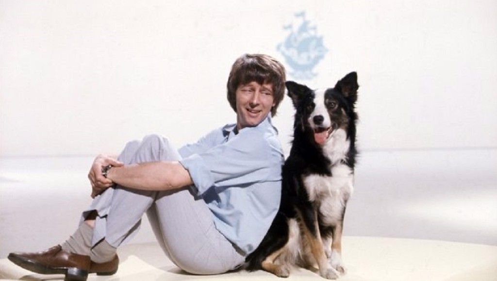 LEGENDS: Blue Peter presenters John Noakes and Shep