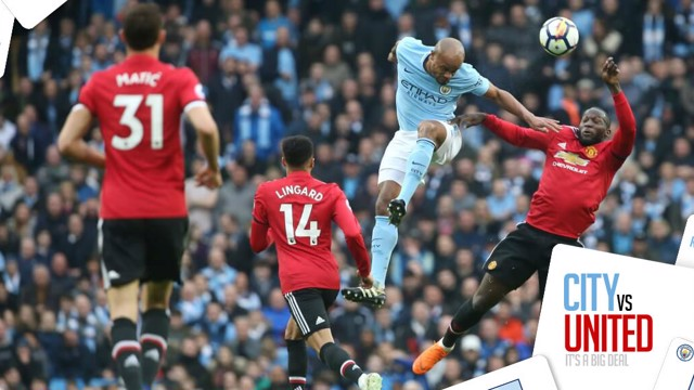 HYPE:  Get ready for the Manchester derby...