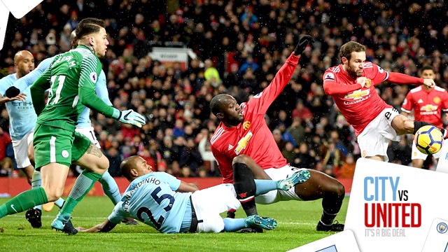 TOP 5: A compilation of the best saves made in Manchester derby matches