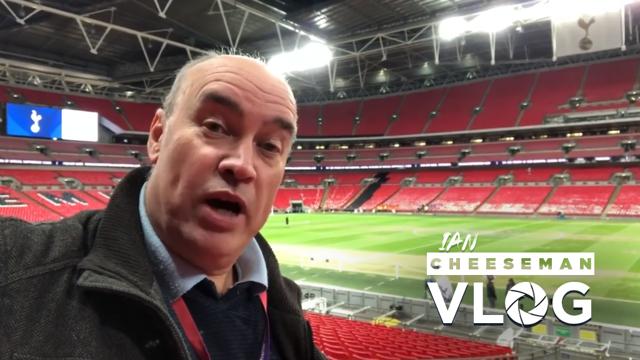 Ian Cheeseman at Wembley
