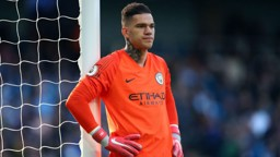 EURO FIGHTER: Ederson says Manchester City are determined to get our Champions League campaign back on track at Hoffenheim