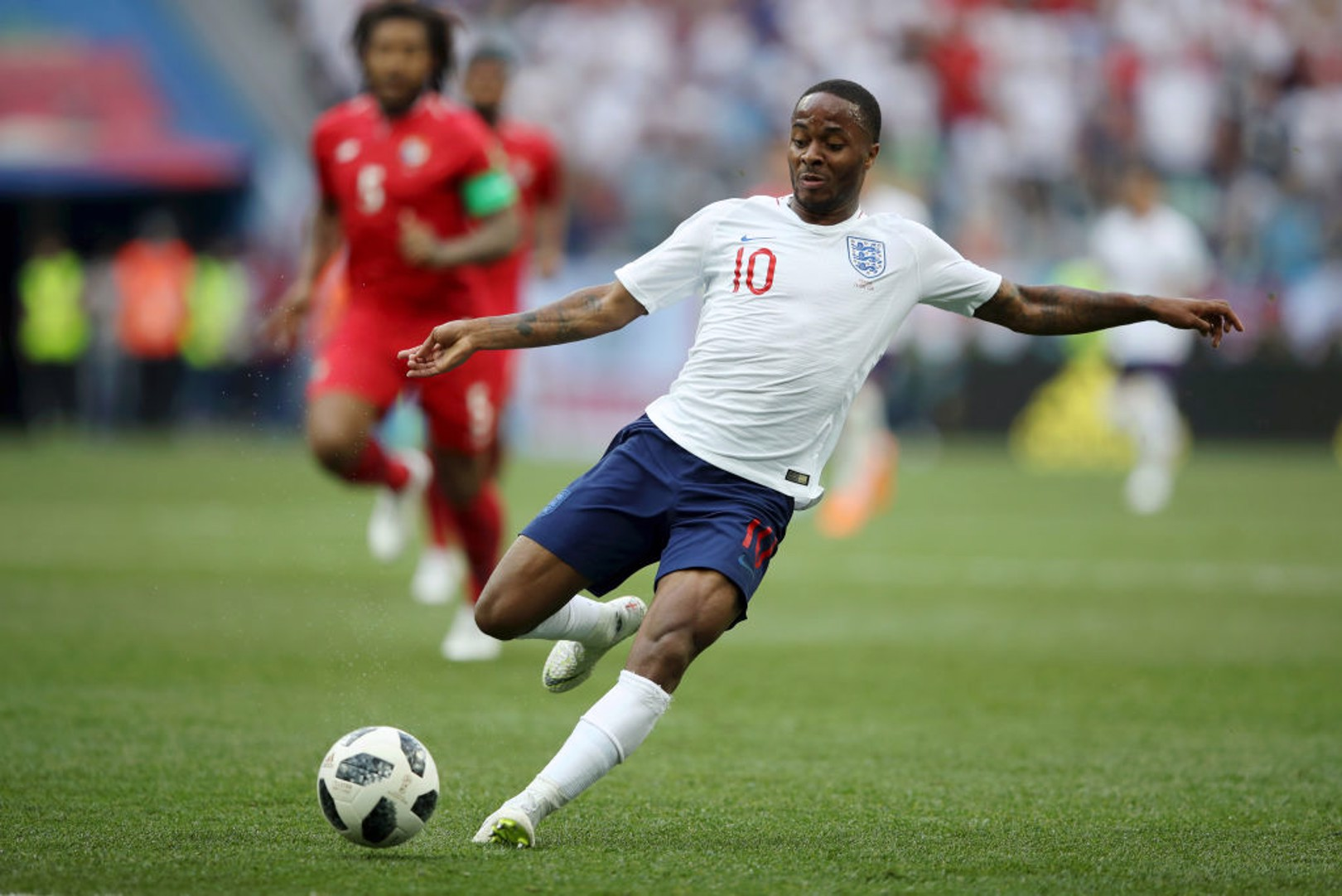 INTERNATIONAL ACTION: Raheem Sterling could feature for England on Friday night.
