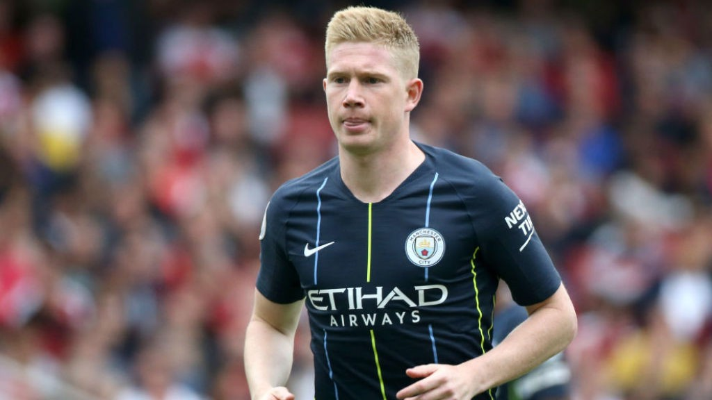 CONTENDER: Kevin De Bruyne has been short-listed for the prestigious Ballon d'Or award