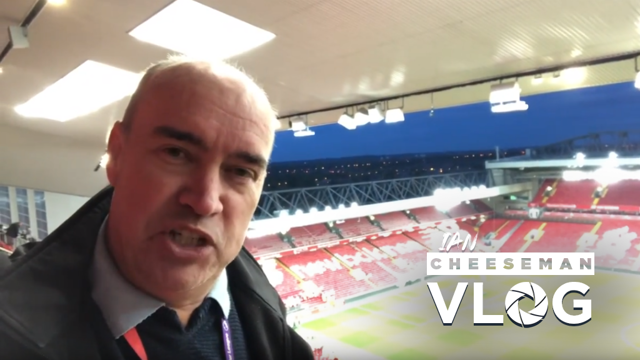 VLOG: Ian Cheeseman was in Liverpool to capture the day