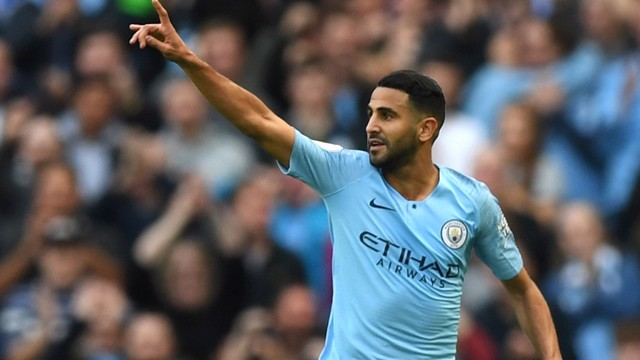 MAHREZ; Riyad talks to CityTV after the 5-0 win over Burnley