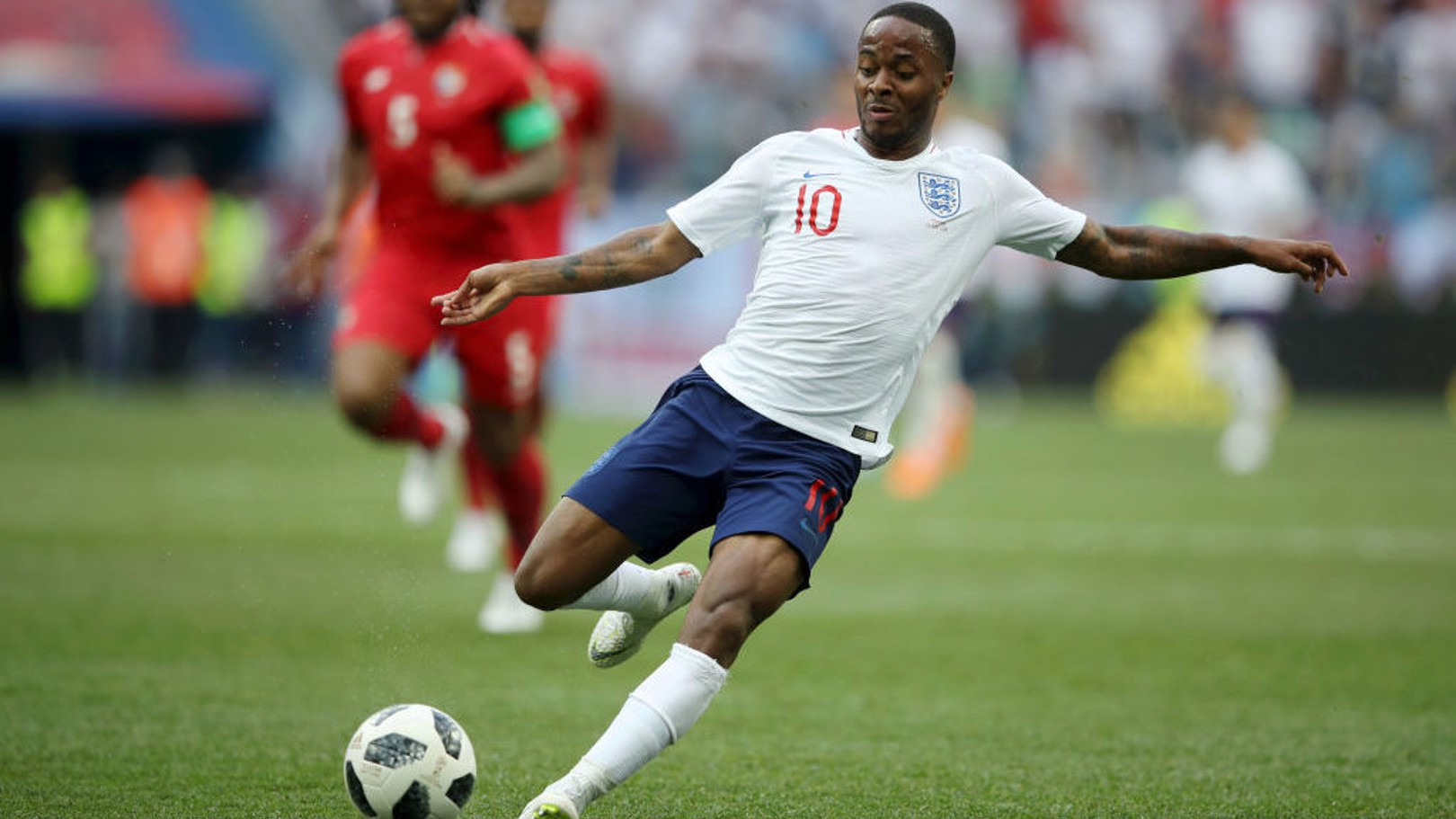 INTERNATIONAL ACTION: Sterling could feature for England on Friday night.