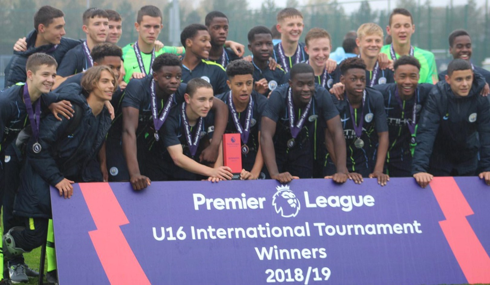 City Academy sides clinch quadruple triumph