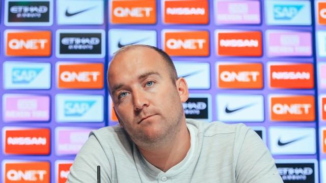 CHELSEA v CITY: Pre-match press conference...