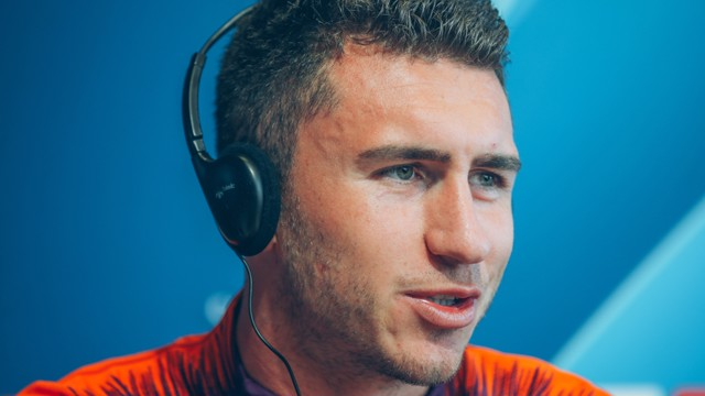 FOCUSED: Aymeric Laporte has enjoyed plenty of gametime but asserts he cannot become complacent...