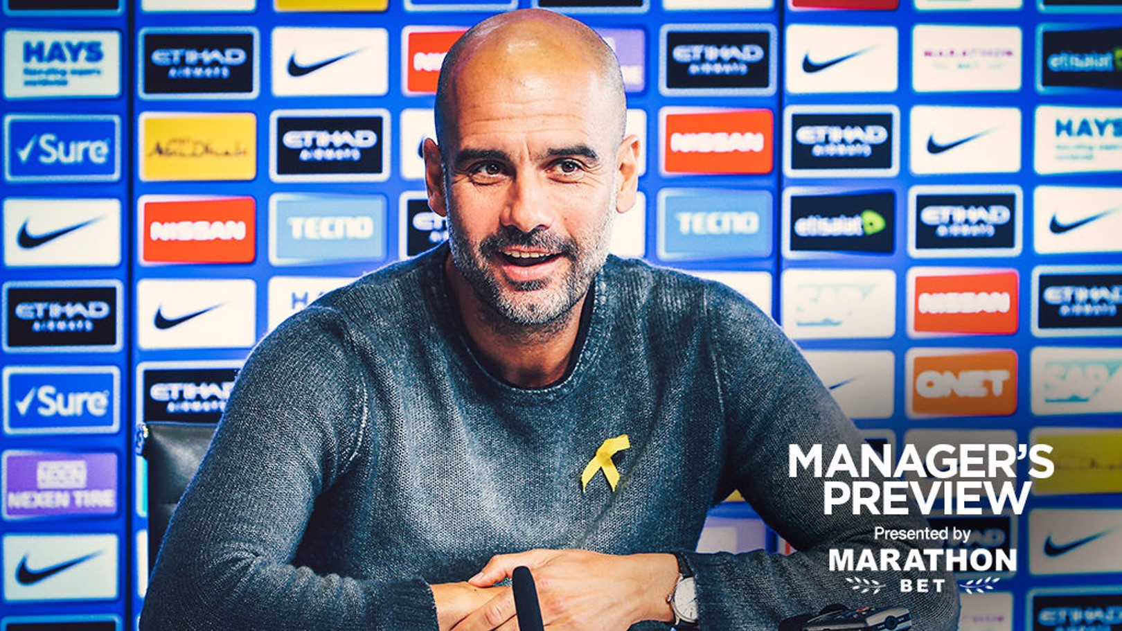 PEP TALK: Guardiola says KDB is well on the road to recovery