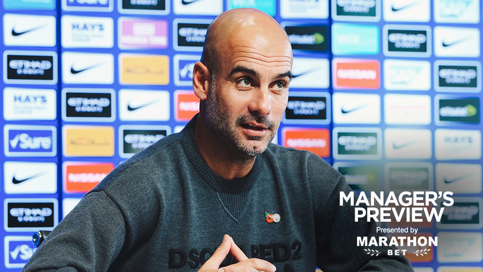 MANAGER VIEW: Boss Pep Guardiola