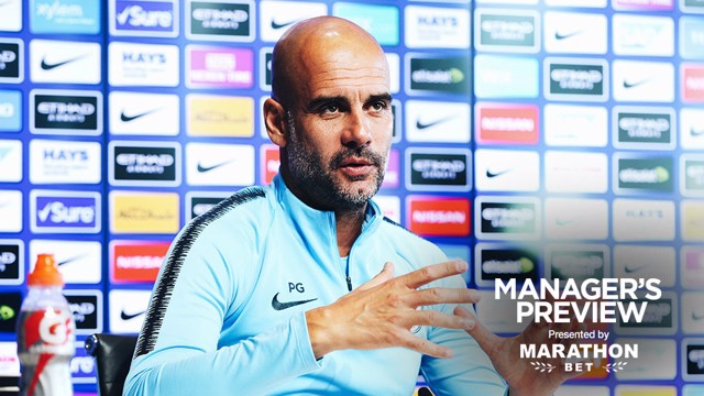 PREVIEW: Pep Guardiola addresses the media ahead of Tottenham v City.
