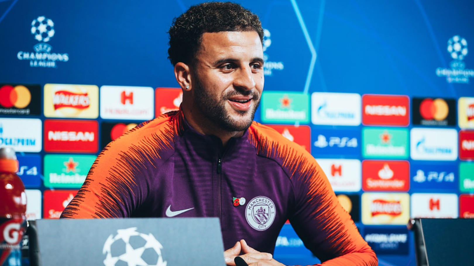 PRESS CONFERENCE: Kyle Walker addresses the media ahead of the game
