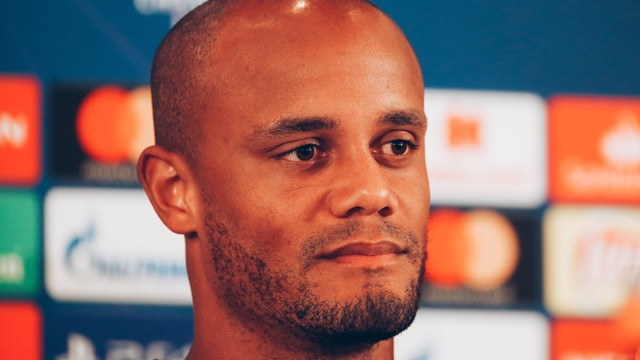 PRESS CONFERENCE: Vincent Kompany, addresses the media ahead of the game...