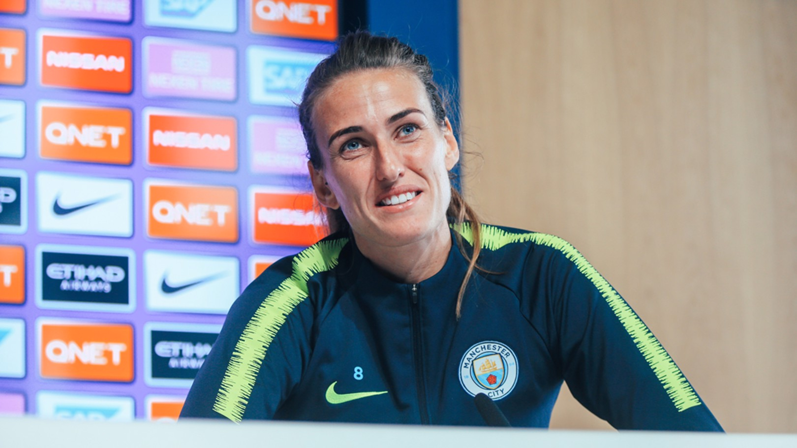 RIVALS: Jill Scott has opened up about the City-Chelsea rivalry ahead of this weekend's WSL opener