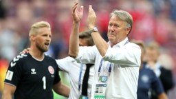 WORLD CLASS: Age Hareide helped guide Denmark to a fine showing at the World Cup finals in Russia