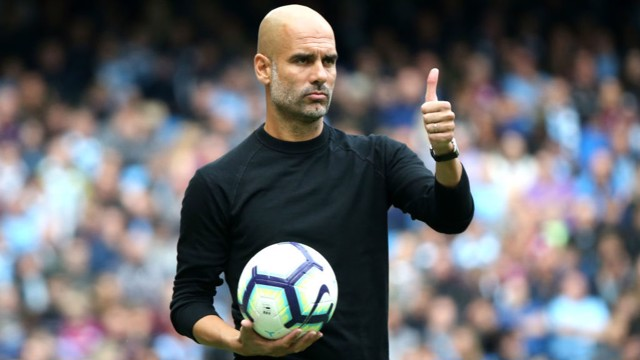 FOCUS: Pep Guardiola says Manchester City are striving to improve even more on the pitch