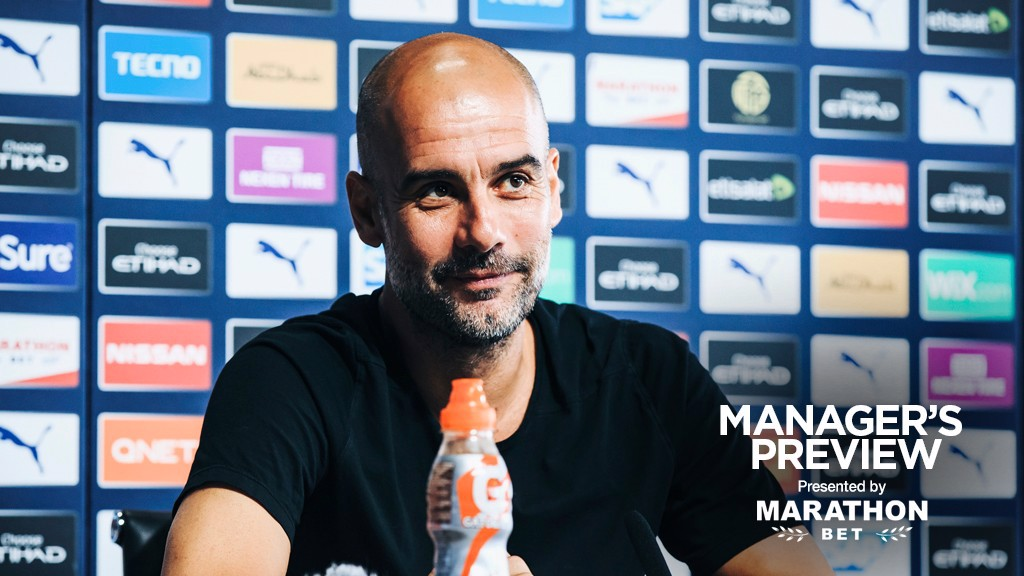 PREVIEW: Pep addresses the media ahead of Bournemouth.