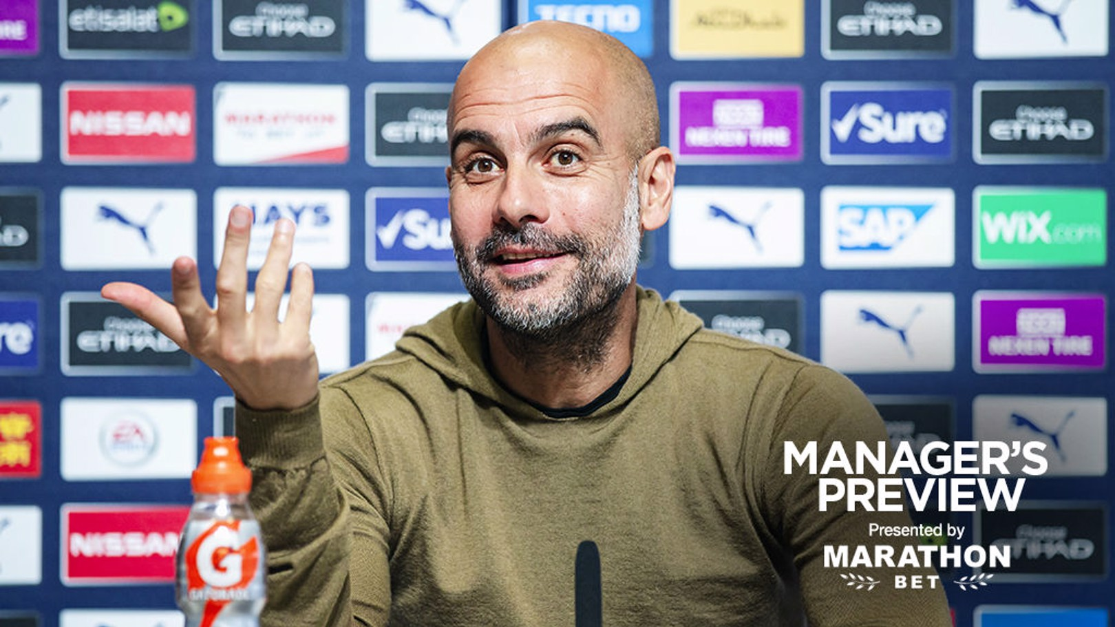 PEP TALK: Latest from the boss' press conference