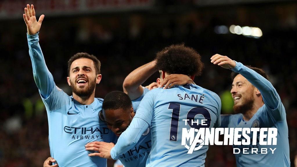 a6221ca17cf Manchester United v Manchester City  Match report - Manchester City FC