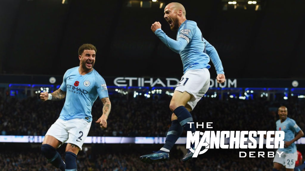 MANCHESTER DERBY: David Silva recalls some memorable City moments against United