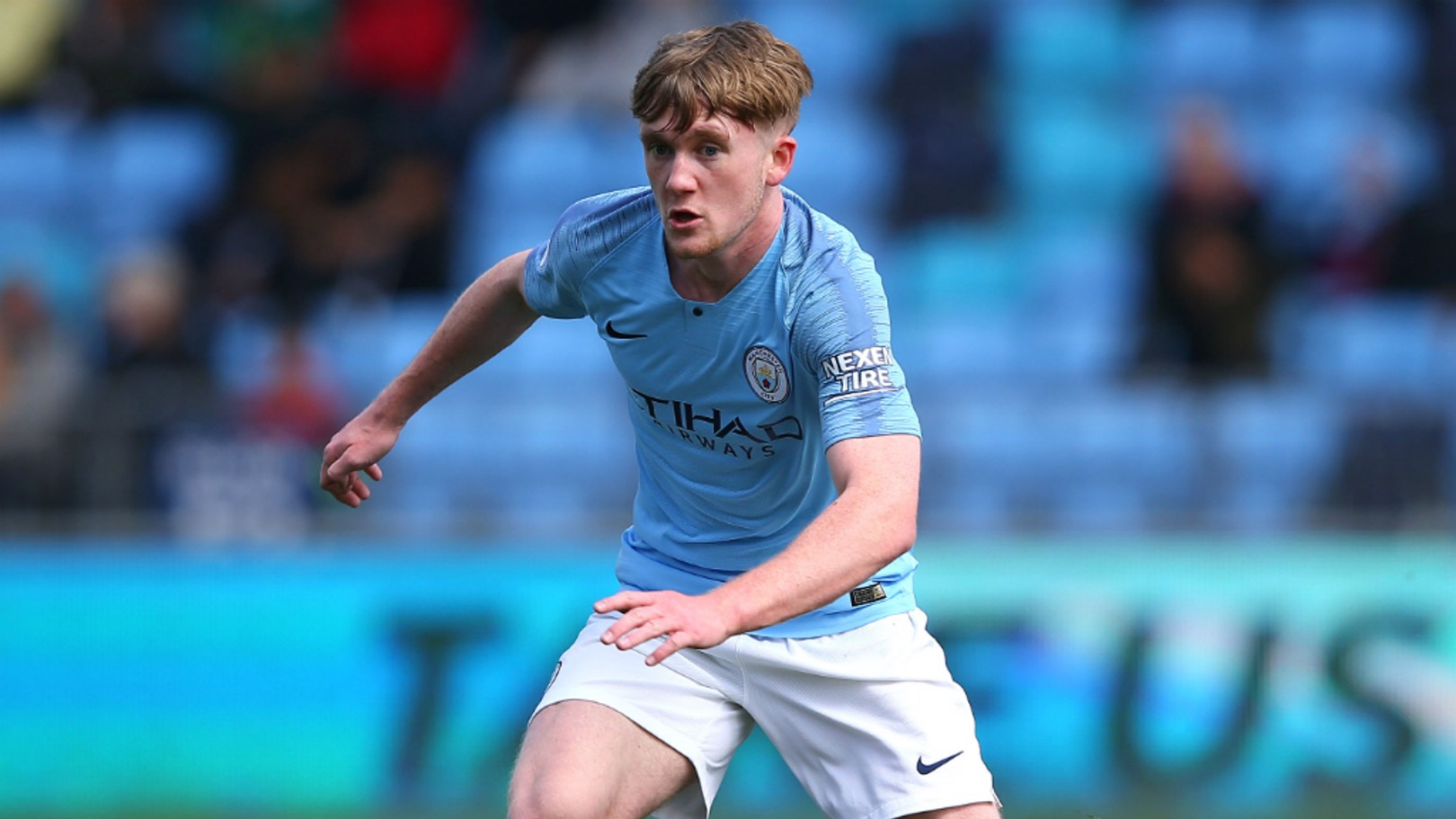 BLUE BLOOD: Tommy Doyle is the grandson of City heroes Glyn Pardoe and Mike Doyle