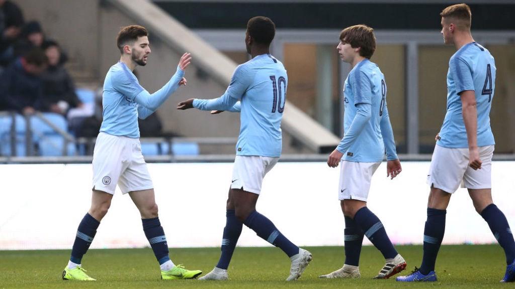CONSOLATION STRIKE: Benjamin Garre scored a late penalty for City at Blackburn