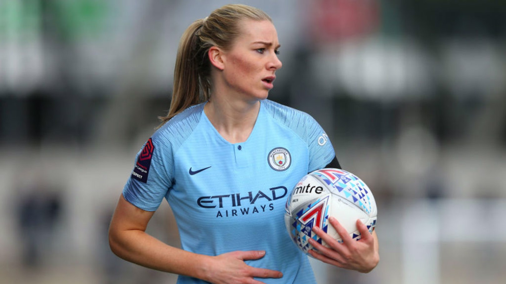 CALL-UP: Gemma Bonner has become the tenth Manchester City player to be called into the Lionesses squad for the forthcoming Road to France Series games