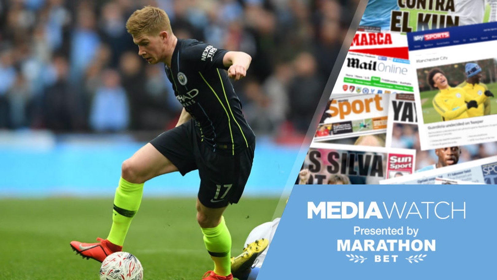 MEDIA WATCH: City's chances of multiple silverware has been assessed by the media