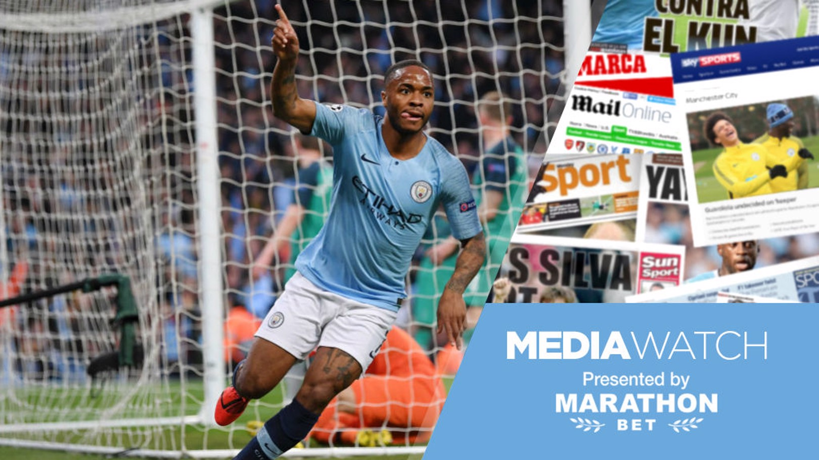 MEDIA WATCH: Raheem Sterling is one of the favourites to land the PFA Player of the Year award