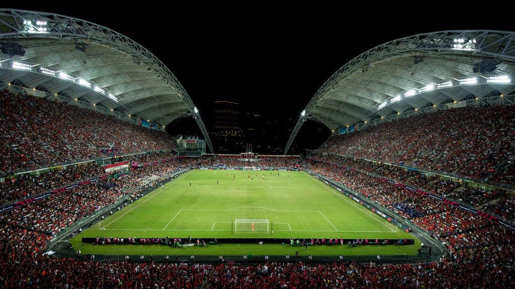 HONG KONG STADIUM: City will play Hong Kong Premier League champions Kitchee Sports Club