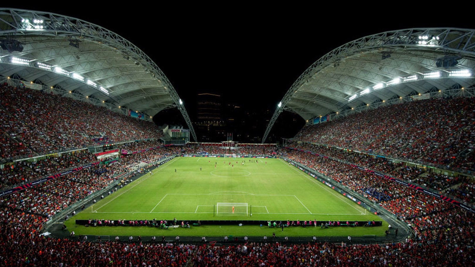 HONG KONG STADIUM: City will play Hong Kong Premier League champions Kitchee Sports Club