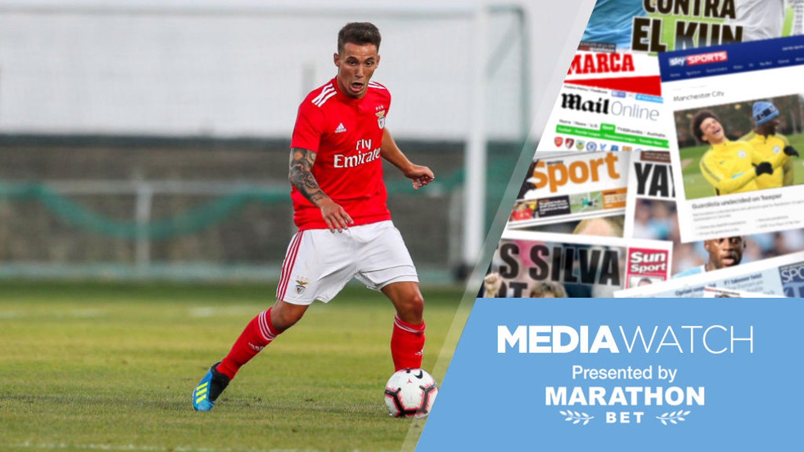 MEDIA WATCH: City are reportedly chasing two Benfica players, according to this morning's papers