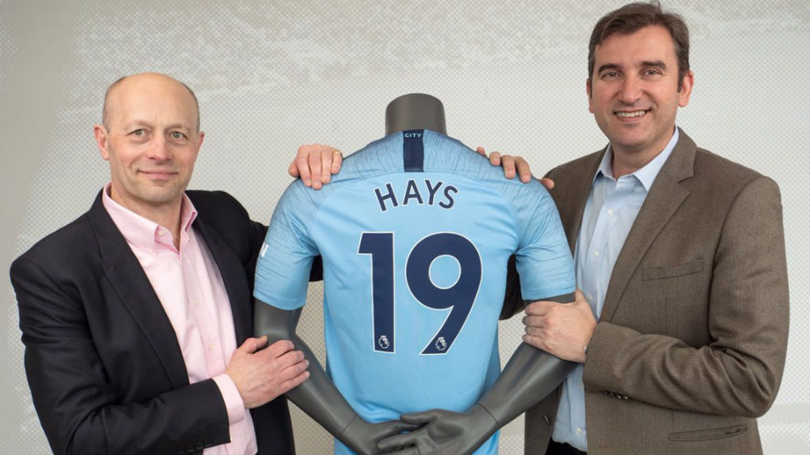 DONE DEAL: Hays and Manchester City have renewed their global partnership