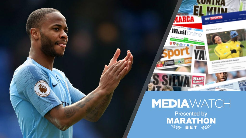 e30ed02db Media Watch  Sterling backed for Player of Year - Manchester City FC