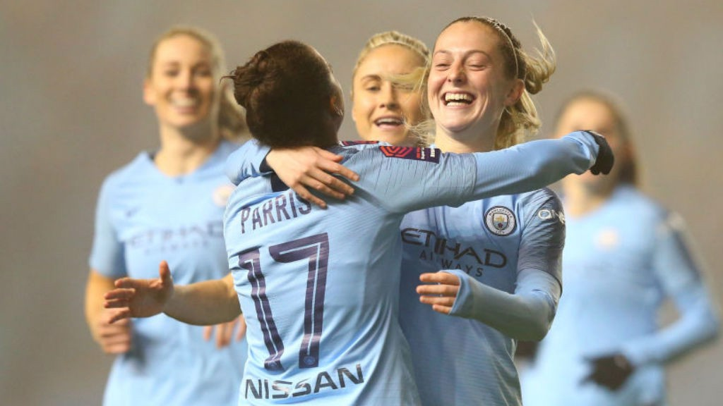 Nikita Parris, Steph Houghton and Keira Walsh have all been shortlisted