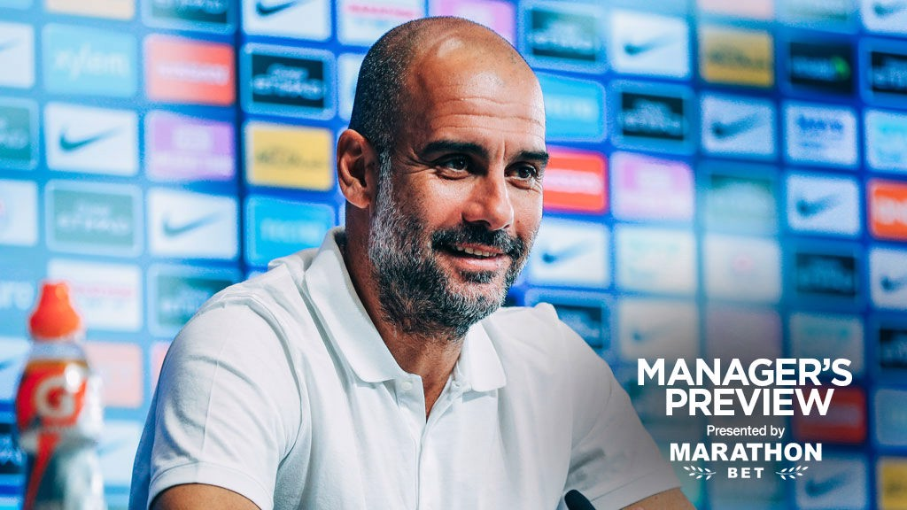 PEP TALK: The boss gives us an update ahead of Wednesday's game