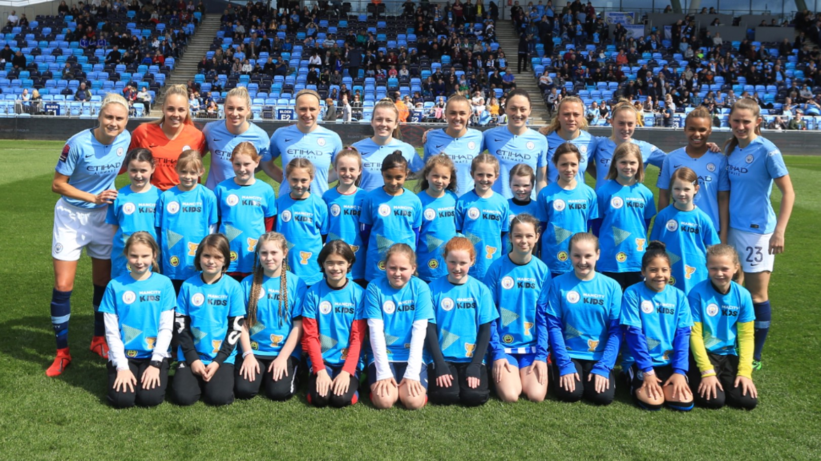 CITY FAMILY: Become affiliated with Manchester City's women's team for the 2019/20 season
