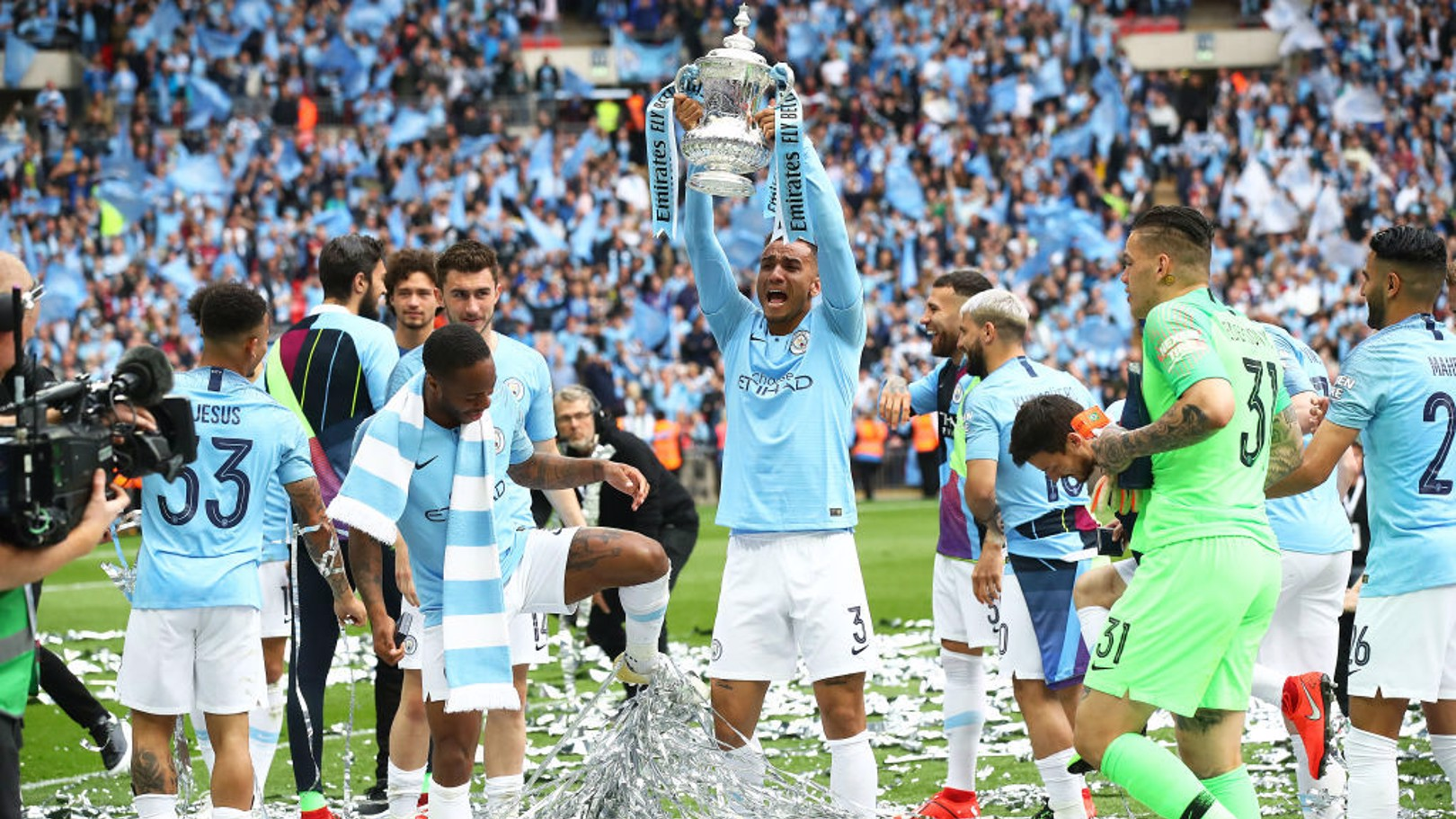 THANK YOU DANILO: The Brazilian has left City after two hugely successful seasons