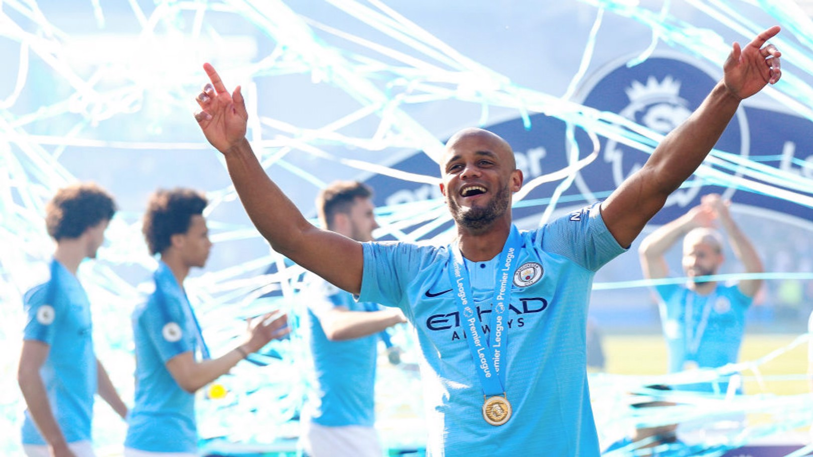 LEGEND: Vincent Kompany.
