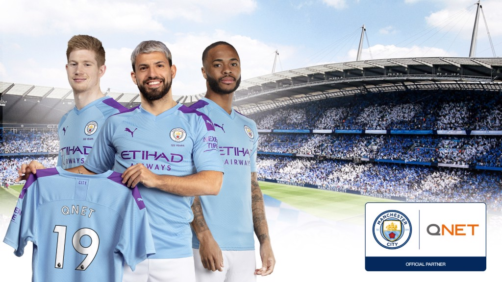 Manchester City extends partnership with QNET - Manchester