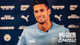 SIGNING SESSION: Come and see our new signing Joao Cancelo!