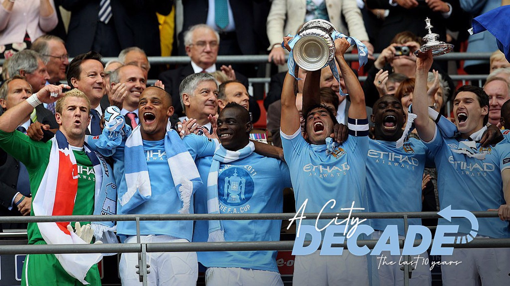 ONE ON THE BAG: City's 2011 FA Cup win sparked a glittering ten-year period.