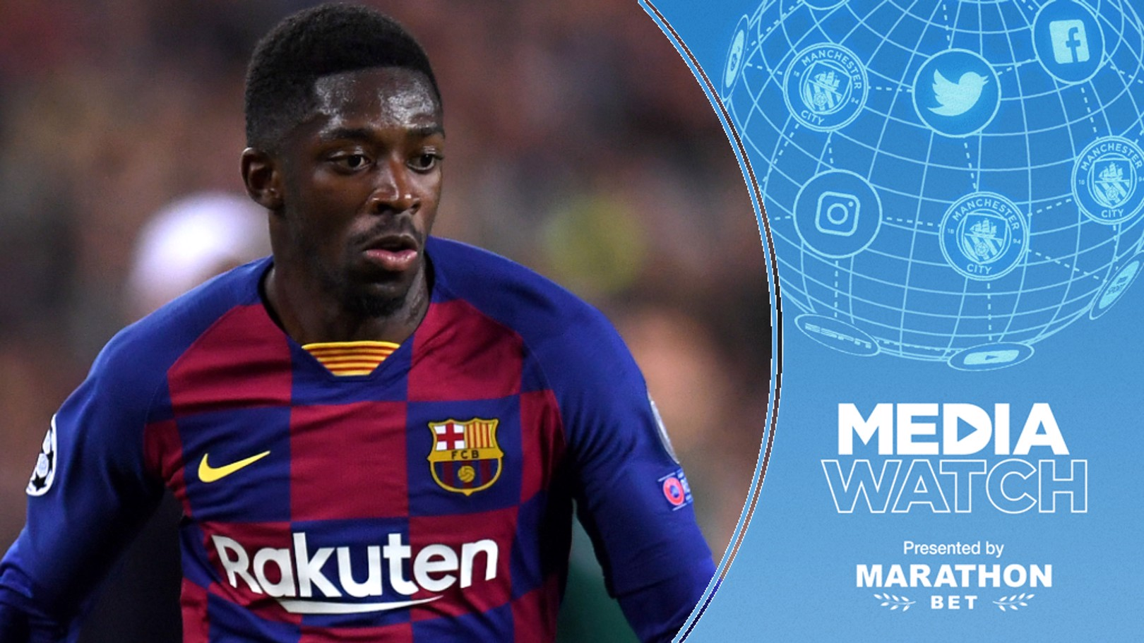 LINKED?: City are reportedly considering a summer move for Ousmane Dembele