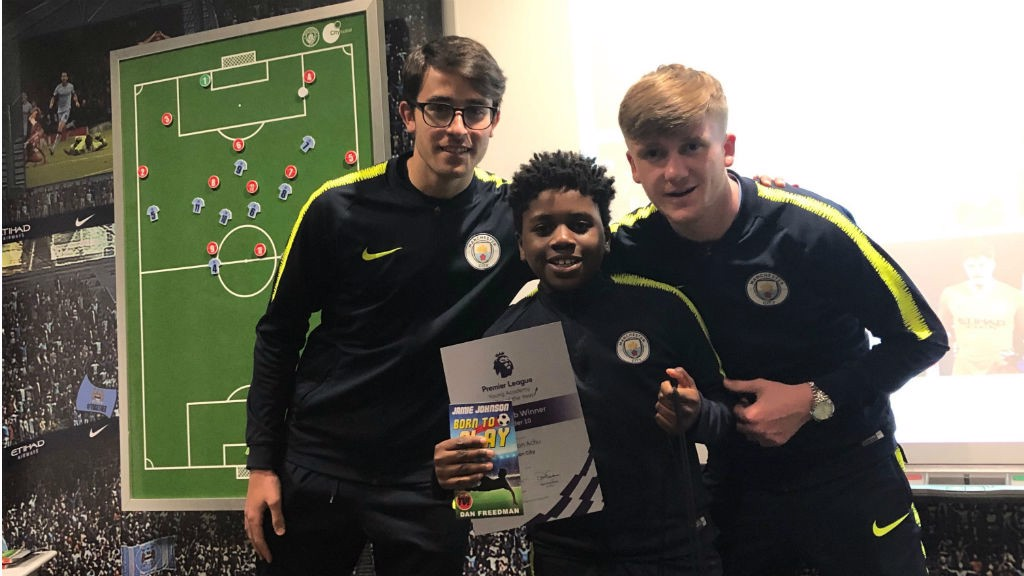 WINNER: Brandon Pouani Siewe was one of our Premier League young writers age group winners