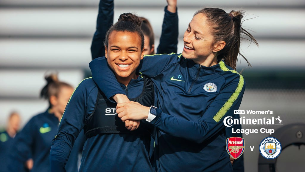 CONTI CUP TRAINING: Build-up to Bramall.