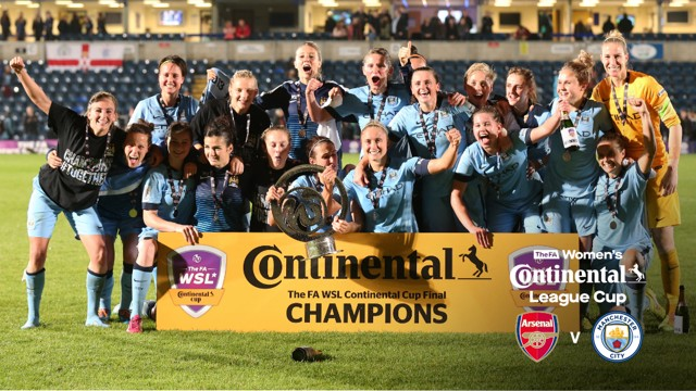 WE MEET AGAIN: City lock horns with Arsenal Women for the third time in the Continental Cup Final