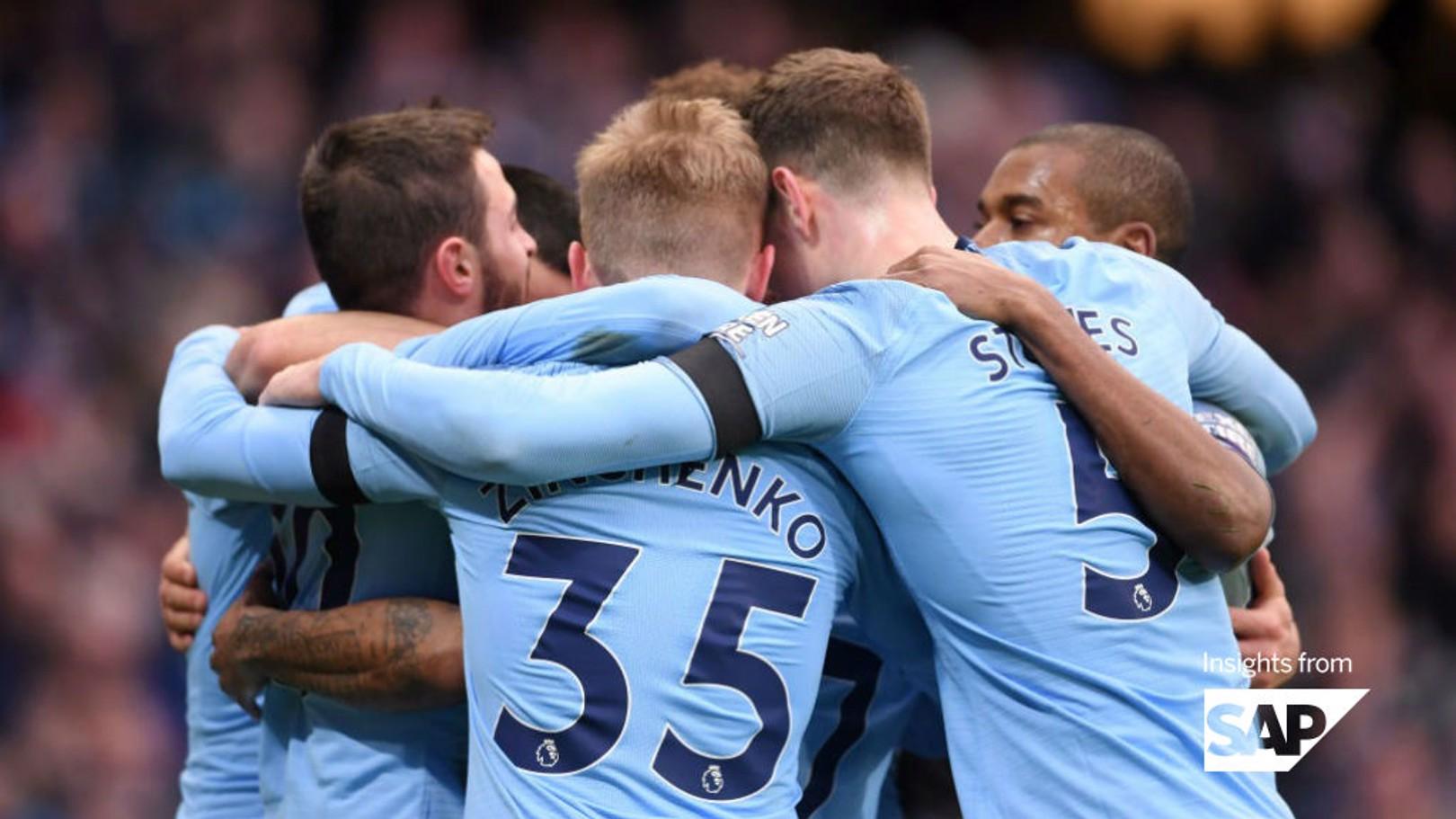 City's 10 stunning Premier League stats so far...