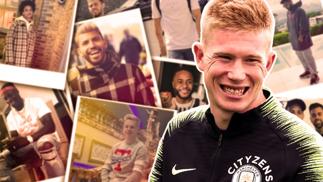 FASHION WEEK: Kevin De Bruyne rates his teammates' dress sense...