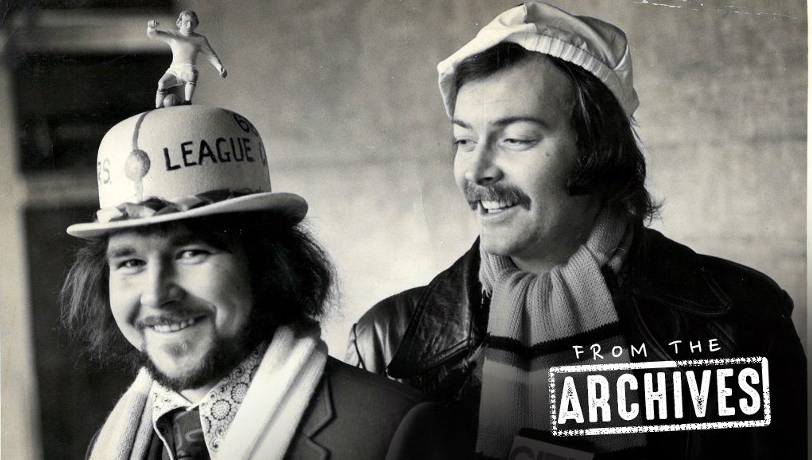 FROM THE ARCHIVES: A lucky Wembley hat!